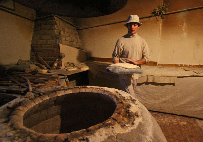 Процесс приготовления грузинского хлеба- Фото 13204- ФотоАргументы.
