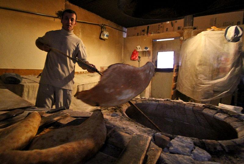 Процесс приготовления грузинского хлеба- Фото 13207- ФотоАргументы.