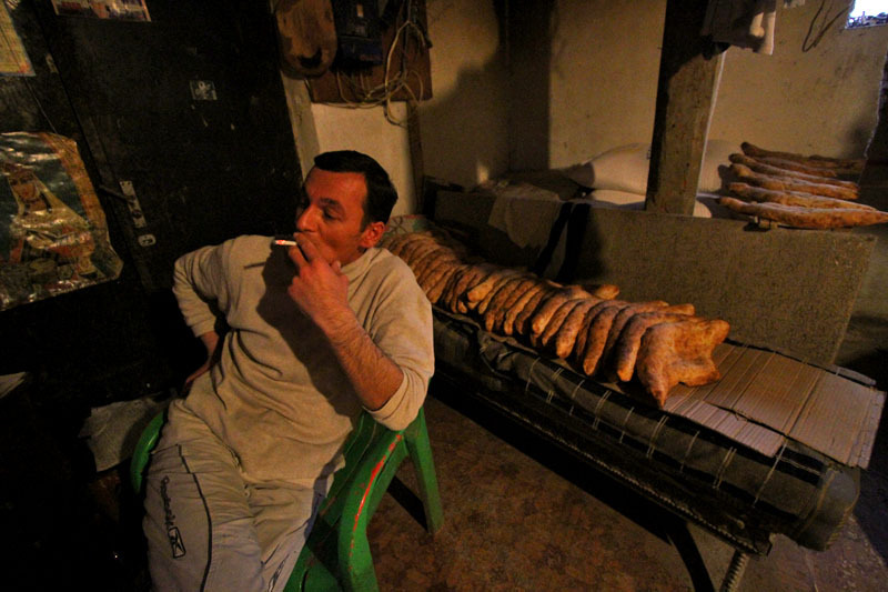 Процесс приготовления грузинского хлеба- Фото 13200- ФотоАргументы.